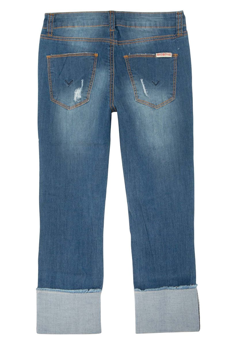 GIRLS JESSA CROP JEAN, SIZES 7-16 - JETTY - Image 2