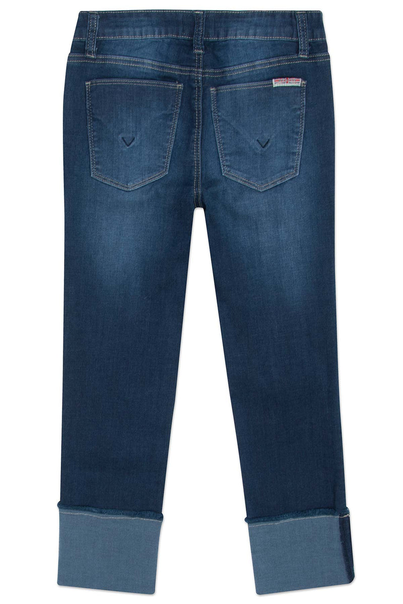 GIRLS JESSA CROP JEAN, SIZES 7-16 - OXFORD BLUE - Image 2