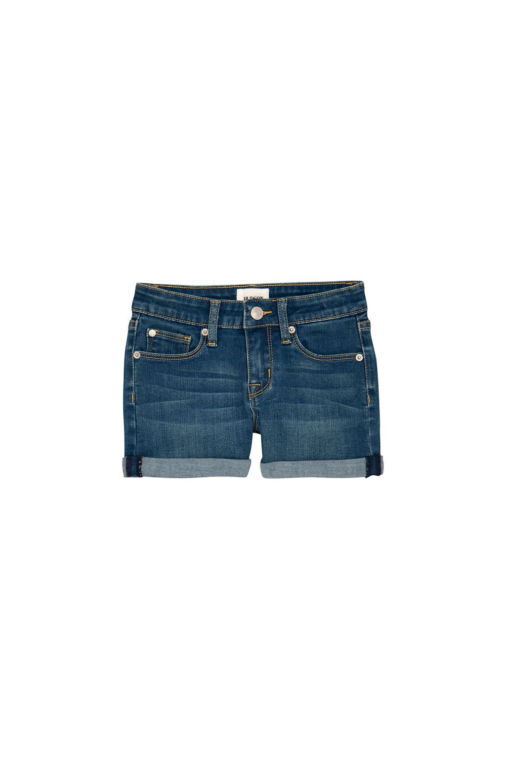 GIRLS BRIA SHORT, SIZES 7-16 - SUNWASHED - Image 1