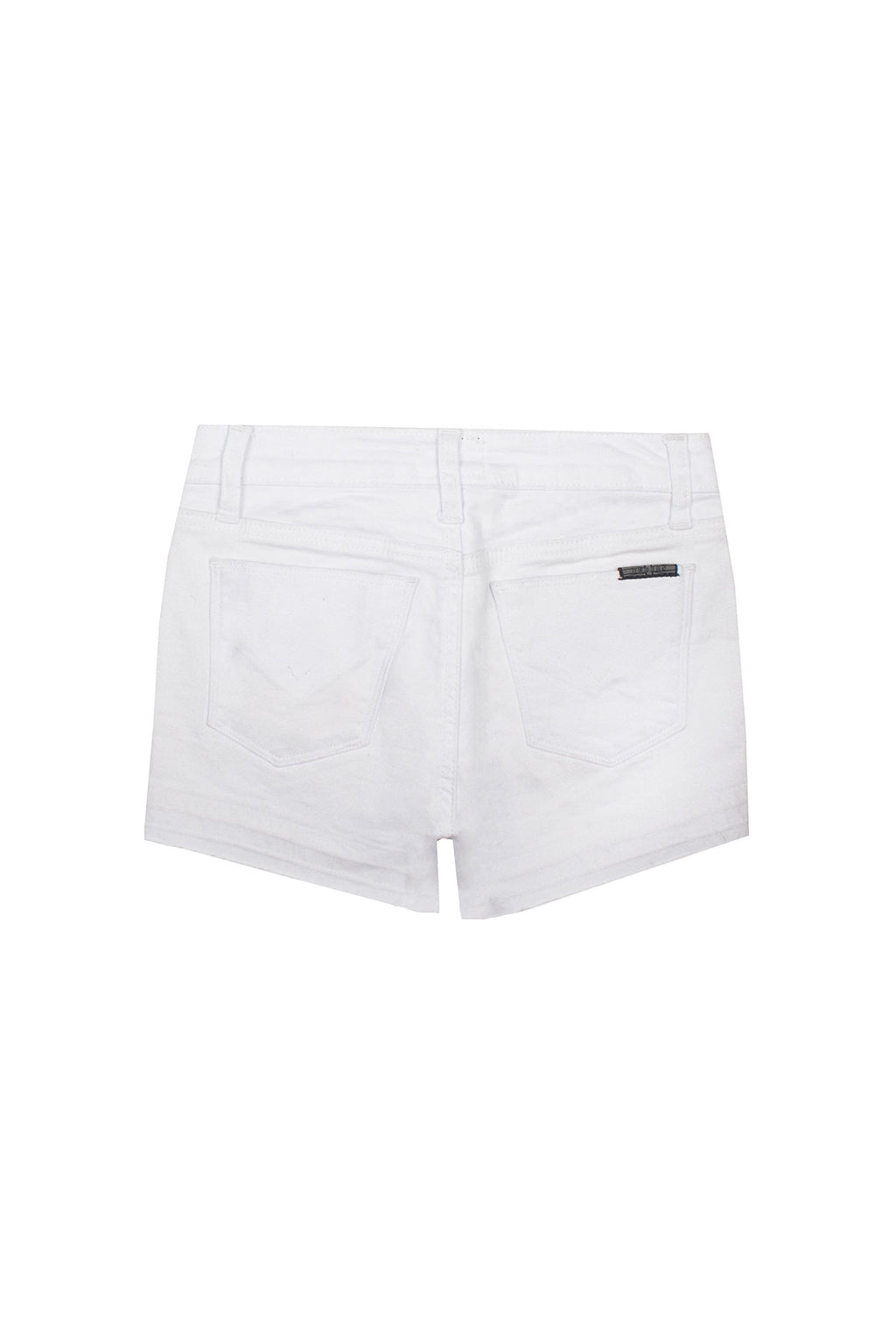 GIRLS AVA SHORT, SIZES 7-16 - WHITE - Image 2