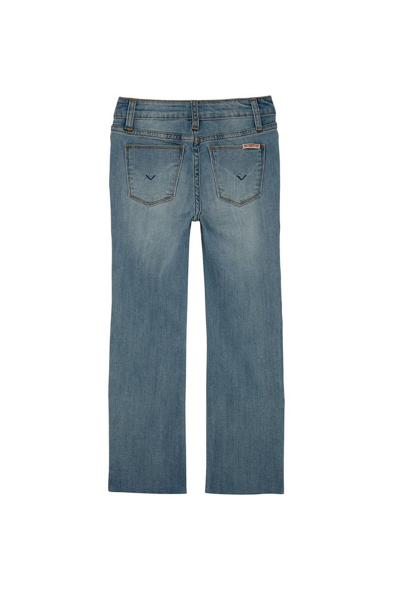 GIRLS SNAPPY CROP JEAN, SIZES 7-16 - FORGET ME NOW - Image 2