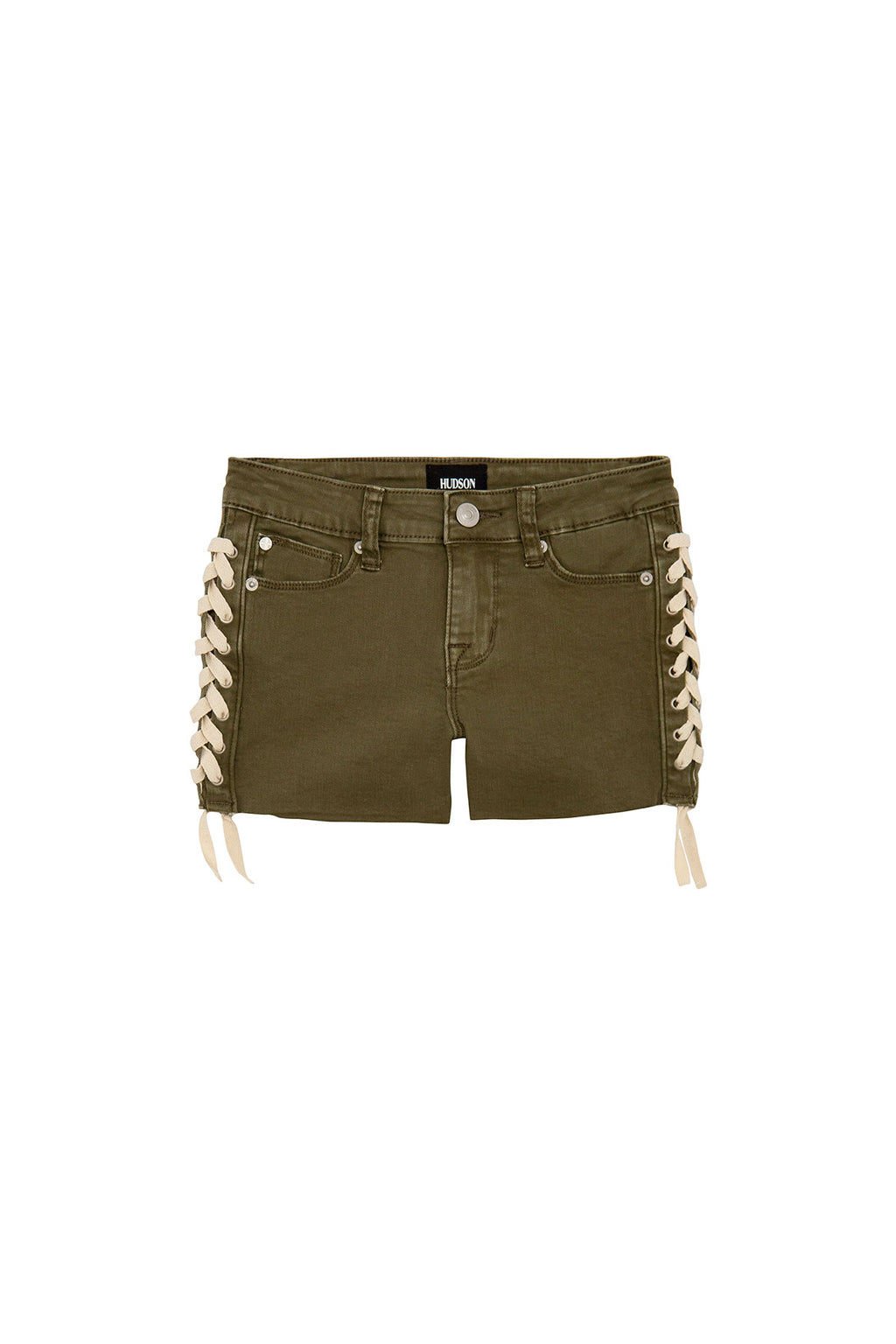 GIRLS BAILEY SHORT, SIZES 7-16 - ARMY GREEN - Image 1
