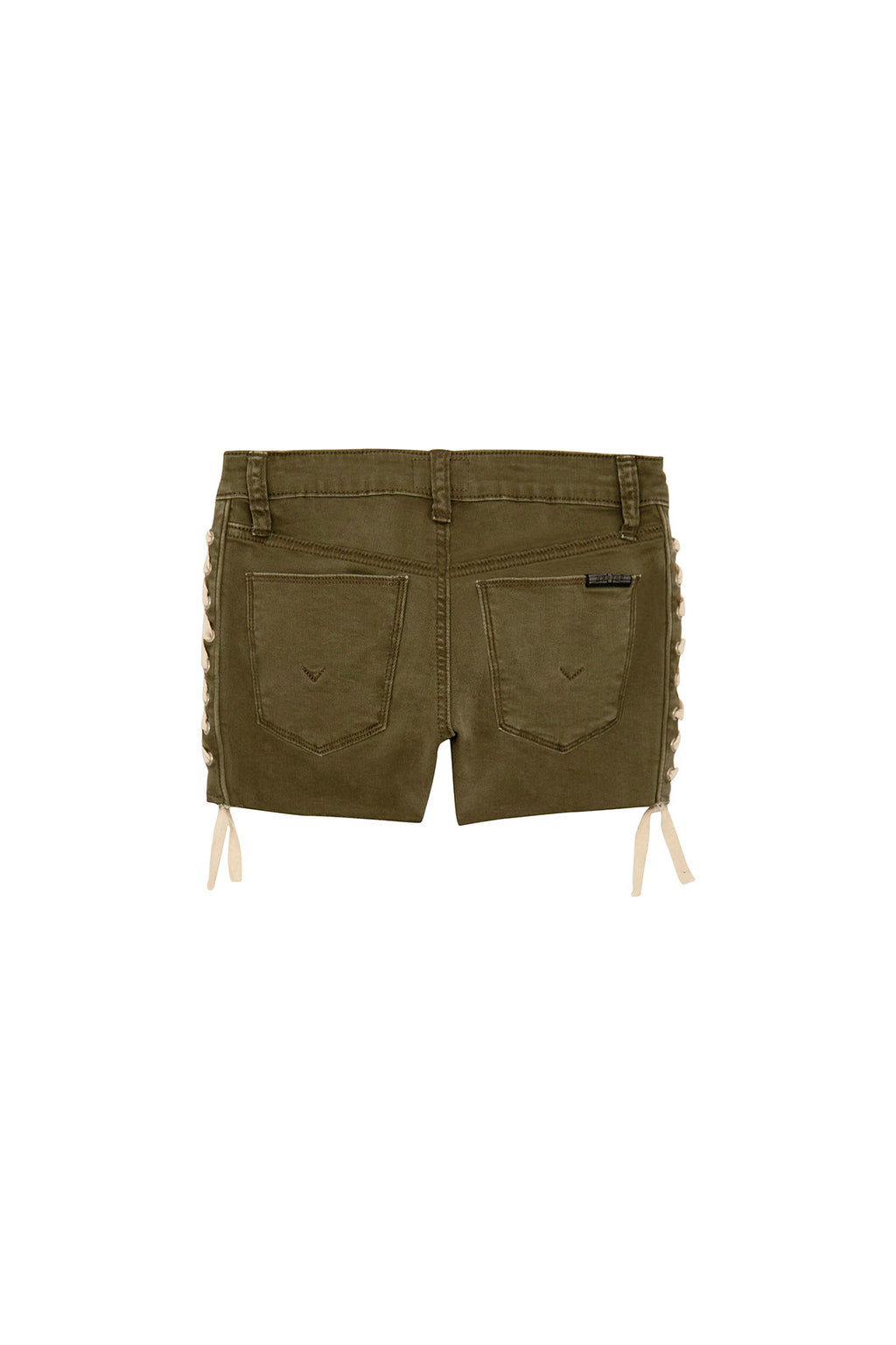 GIRLS BAILEY SHORT, SIZES 7-16 - ARMY GREEN - Image 2