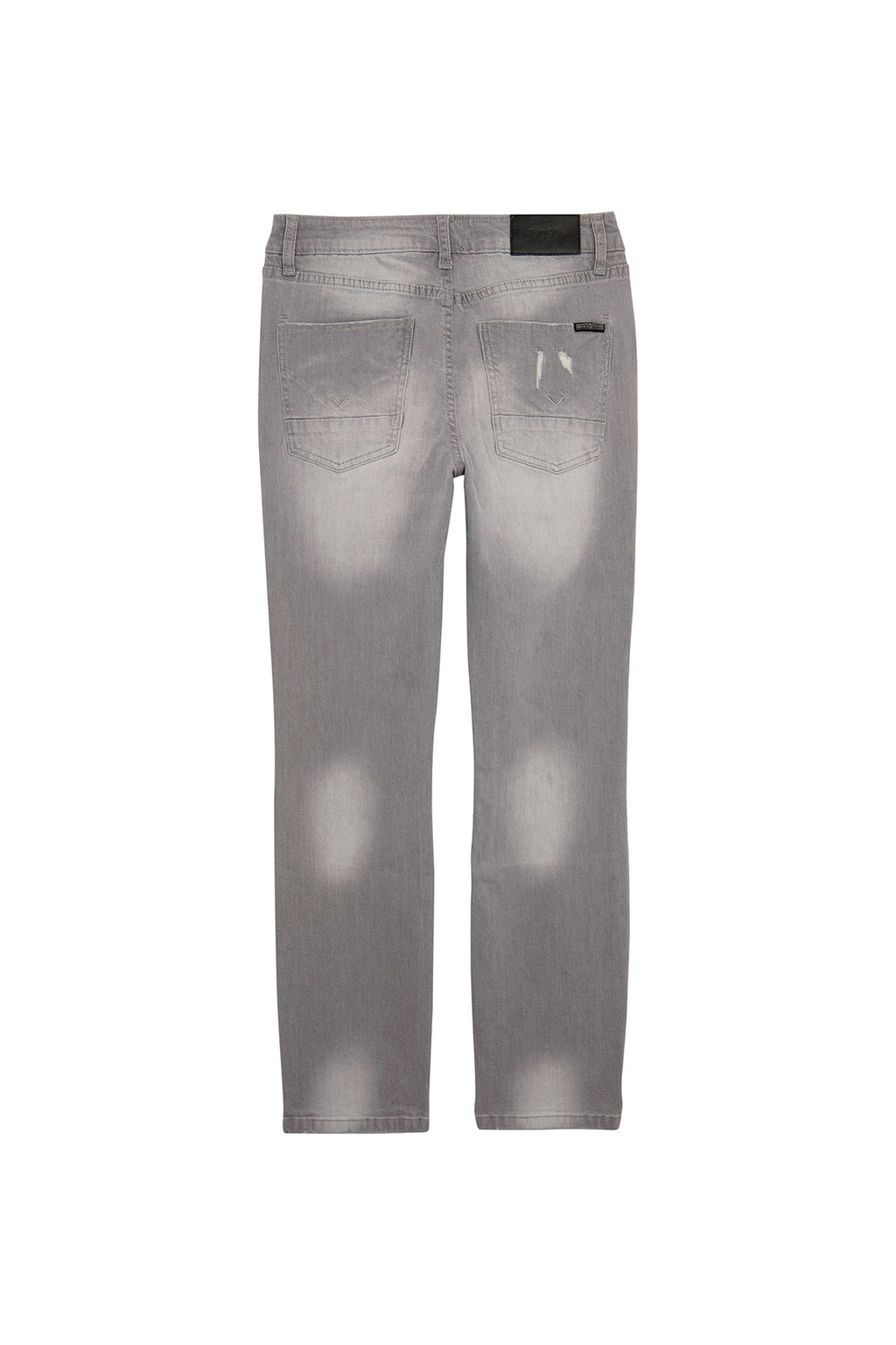 BOYS JAGGER SLIM STRAIGHT JEAN, SIZES 8-20 - GREY CLOUD - Image 2