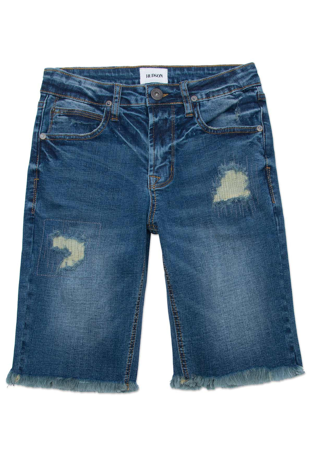 BIG BOYS REPAIRED SHORT, SIZES 8-18 - HEAVY DESTROYED - Image 1