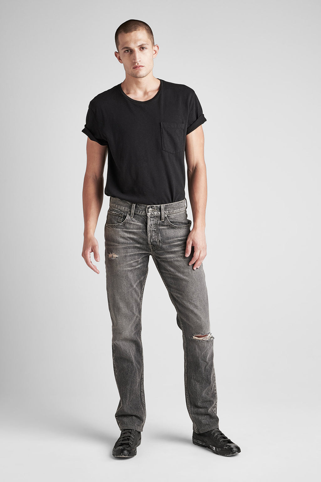BLAKE SLIM STRAIGHT JEAN - INTERSTATE - Image 1