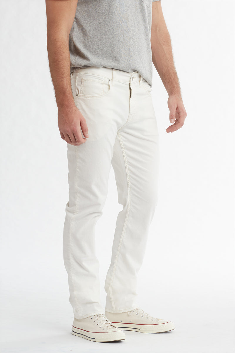 BLAKE SLIM STRAIGHT TWILL JEAN - DIRTY WHITE - Image 2