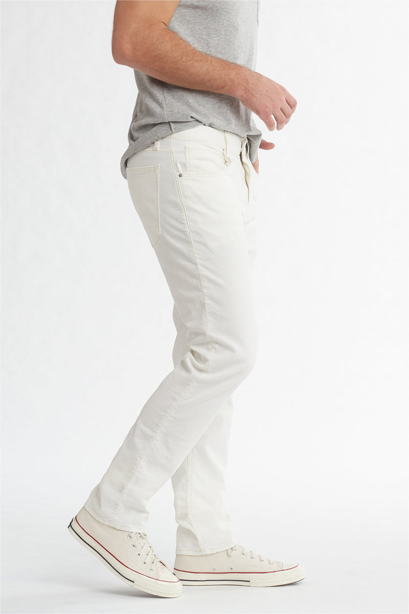 BLAKE SLIM STRAIGHT TWILL JEAN - DIRTY WHITE - Image 3