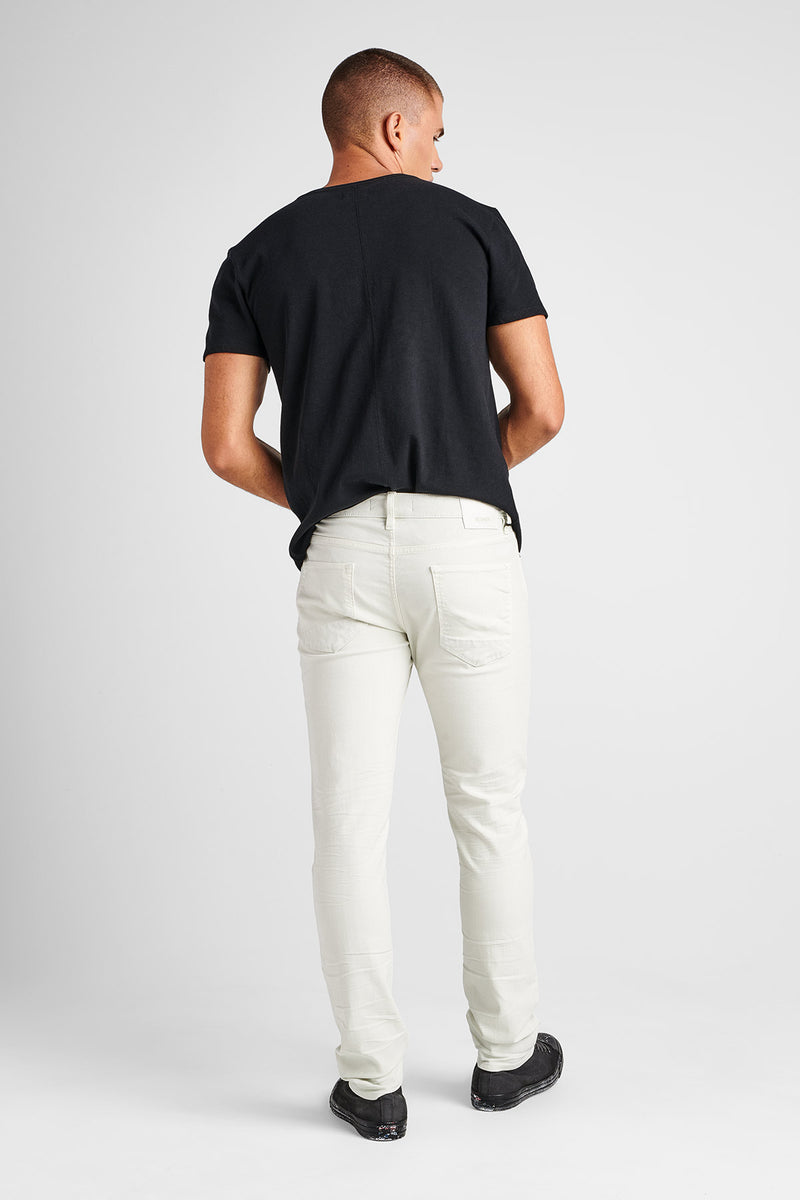 AXL SKINNY TWILL JEAN - DIRTY WHITE - Image 3