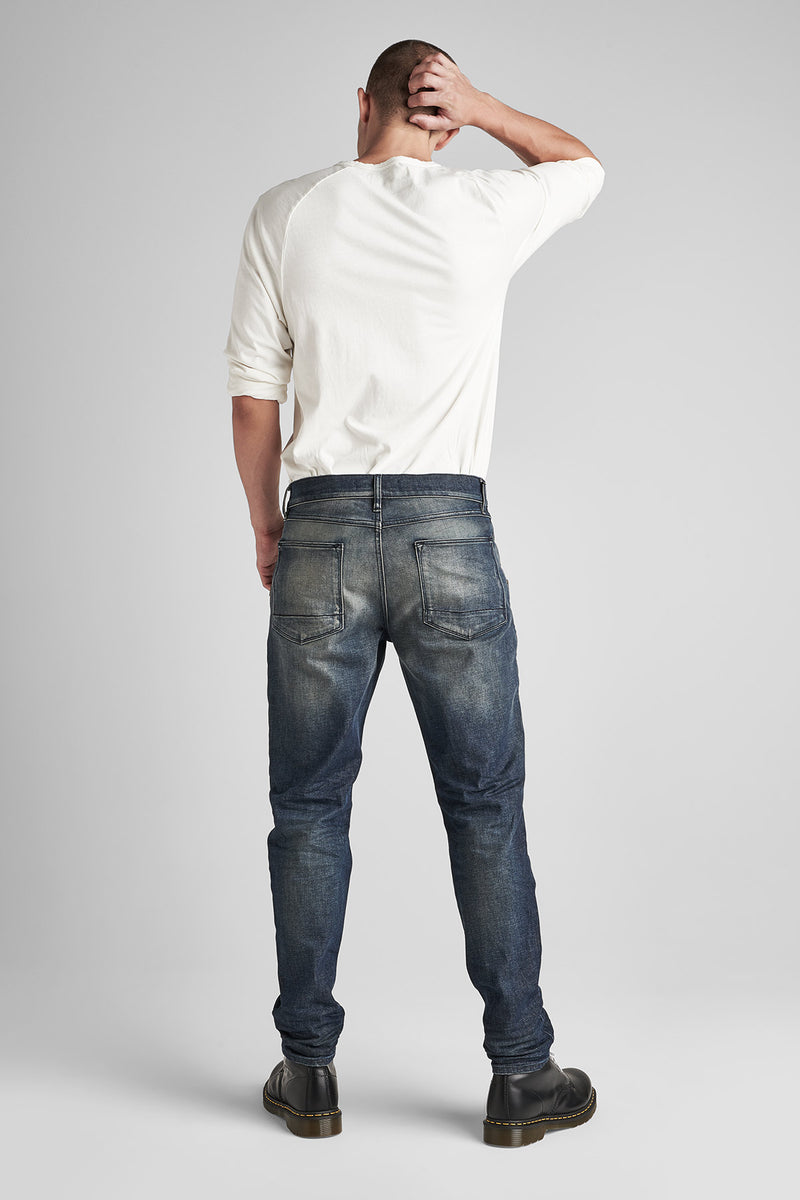 SARTOR RELAXED SKINNY JEAN WITH EXPOSED ZIPPERS - MILLIGAN - Image 3