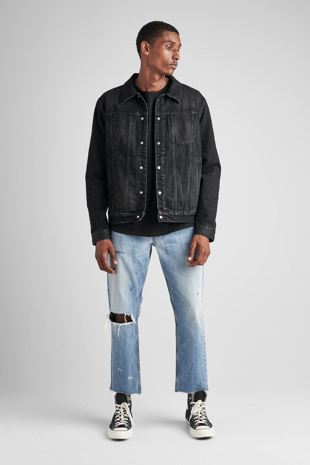 DONOVAN DENIM JACKET - WRIGHT - Image 1
