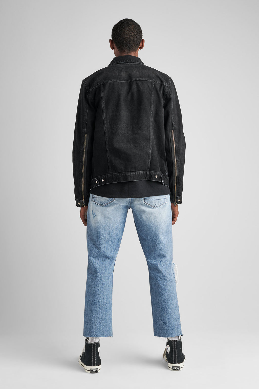 DONOVAN DENIM JACKET - WRIGHT - Image 2