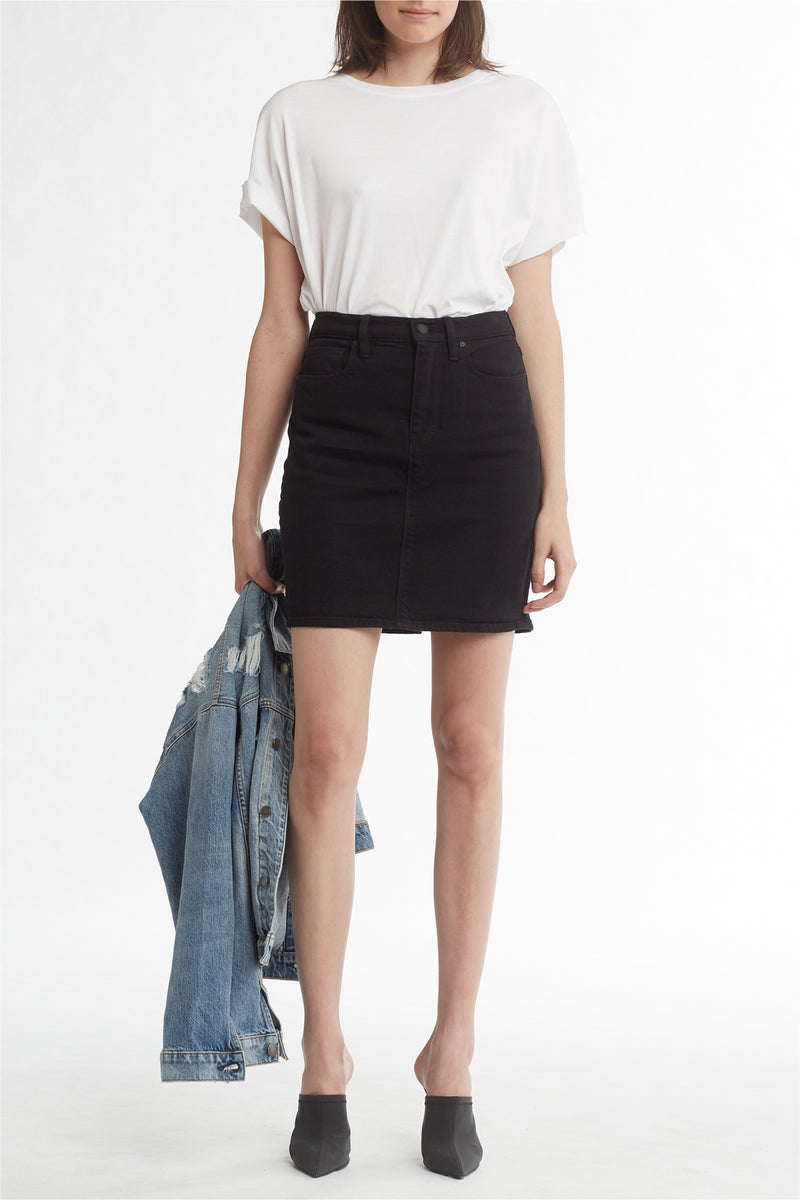 LULU SKIRT - BLACK - Image 1