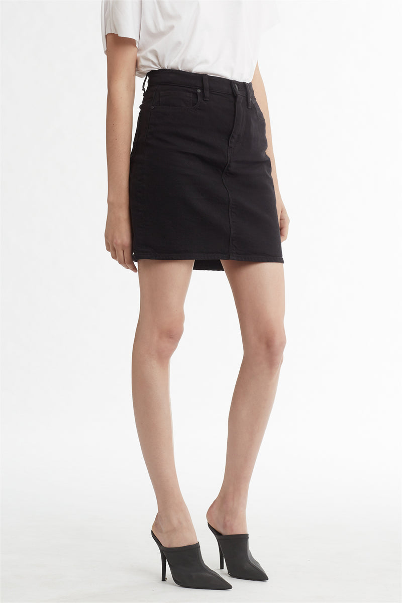 LULU SKIRT - BLACK - Image 2