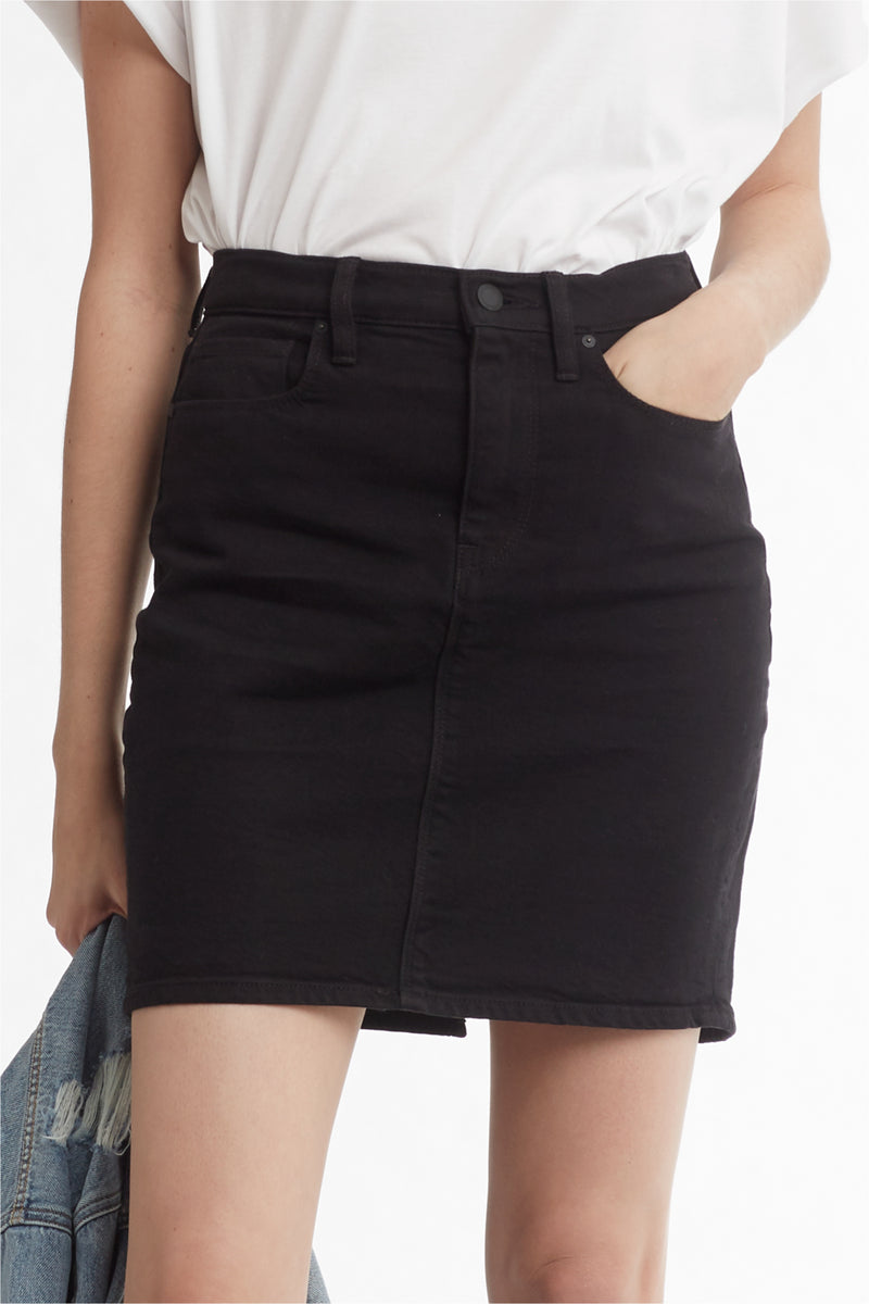 LULU SKIRT - BLACK - Image 5
