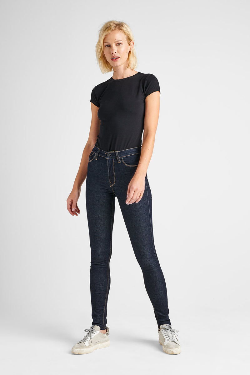 BARBARA HIGH RISE SUPER SKINNY JEAN - SUNSET BLVD - Image 1