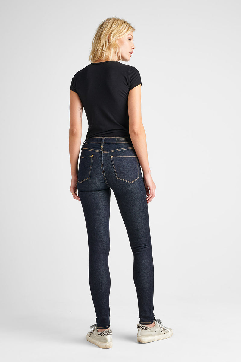 BARBARA HIGH RISE SUPER SKINNY JEAN - SUNSET BLVD - Image 3