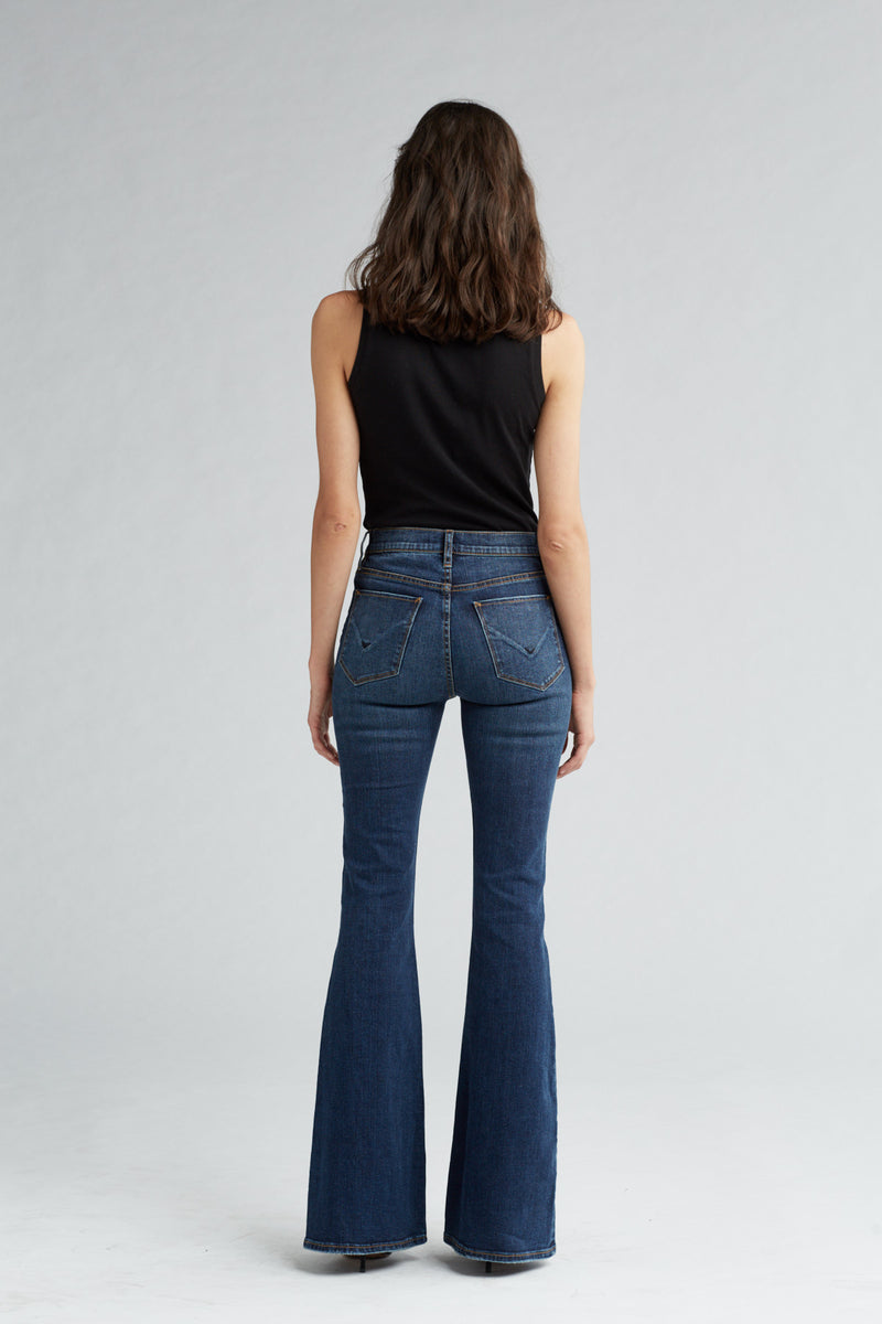 HOLLY HIGH RISE FLARE JEAN - VAGABOND - Image 4