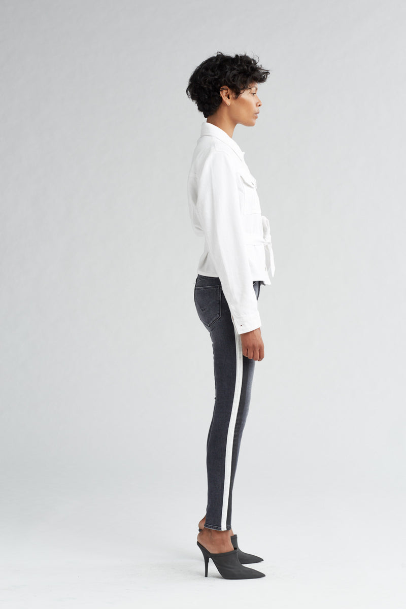 MILITARY TIE TOP - OFF WHITE - Image 3