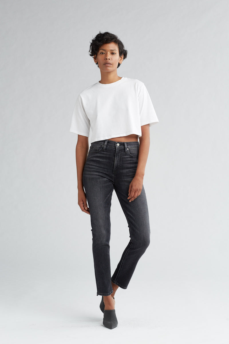 HOLLY HIGH RISE SKINNY CROP JEAN - KONA - Image 1