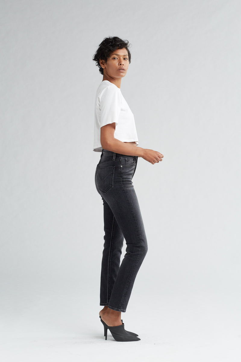 HOLLY HIGH RISE SKINNY CROP JEAN - KONA - Image 3