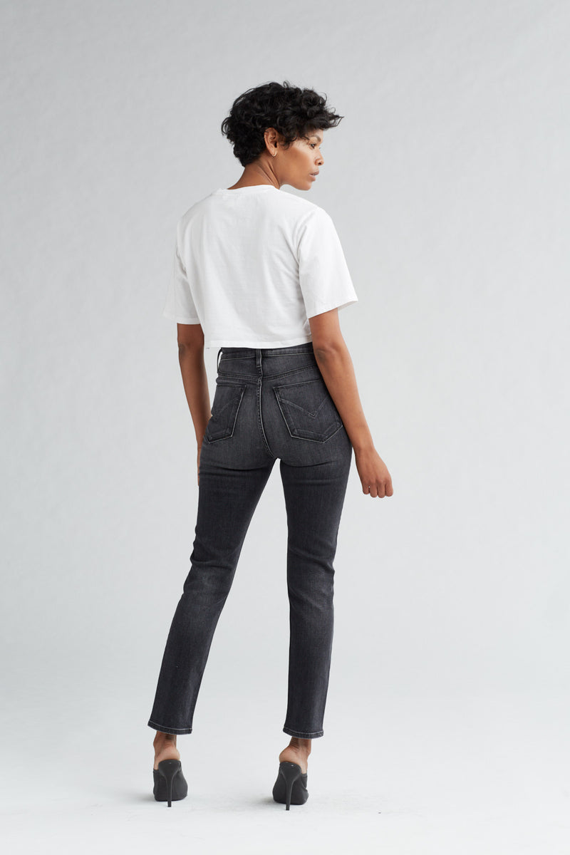 HOLLY HIGH RISE SKINNY CROP JEAN - KONA - Image 4