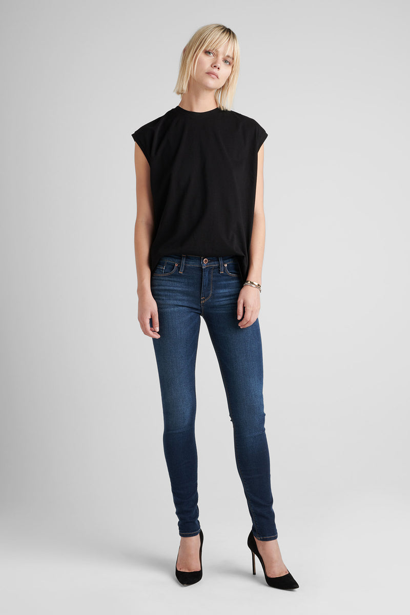 NICO MIDRISE SUPER SKINNY JEAN - GOWER - Image 1
