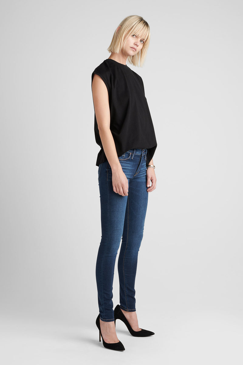 NICO MIDRISE SUPER SKINNY JEAN - GOWER - Image 3