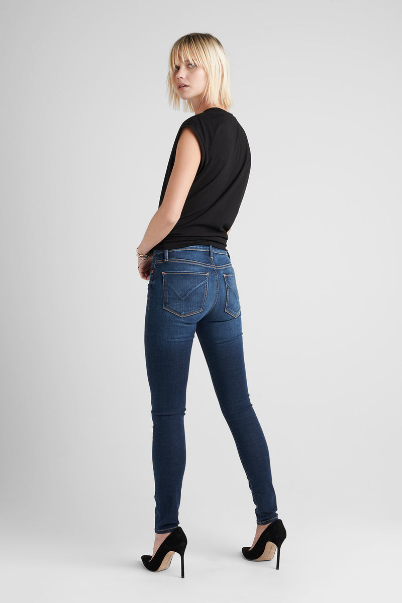 NICO MIDRISE SUPER SKINNY JEAN - GOWER - Image 4