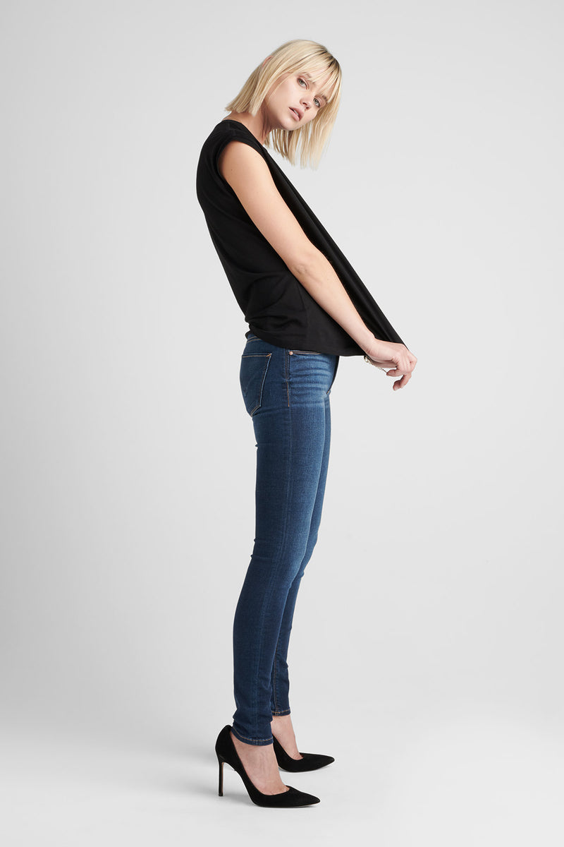NICO MIDRISE SUPER SKINNY JEAN - GOWER - Image 5