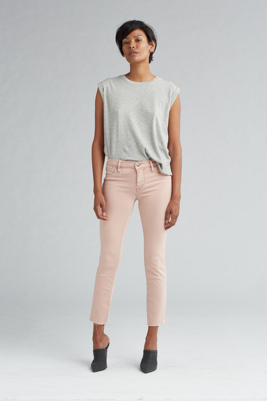 TALLY MIDRISE SKINNY CROP JEAN - LUCERNE - Image 1
