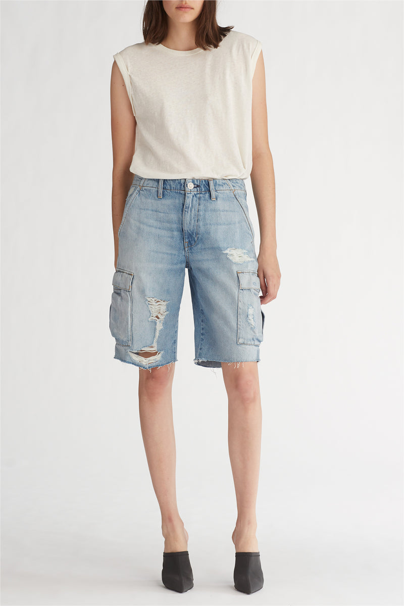 JANE CARGO SHORT - OVERTHROW - Image 1