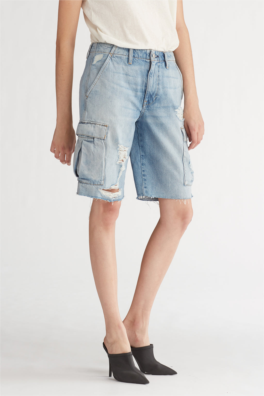 JANE CARGO SHORT - OVERTHROW - Image 2