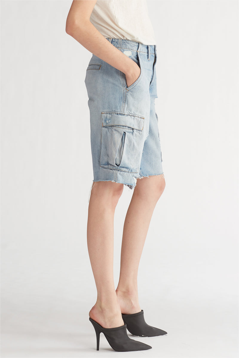 JANE CARGO SHORT - OVERTHROW - Image 3