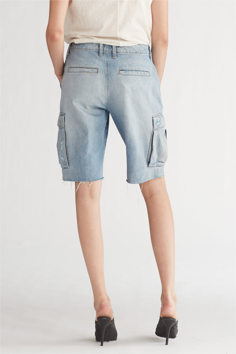JANE CARGO SHORT - OVERTHROW - Image 4