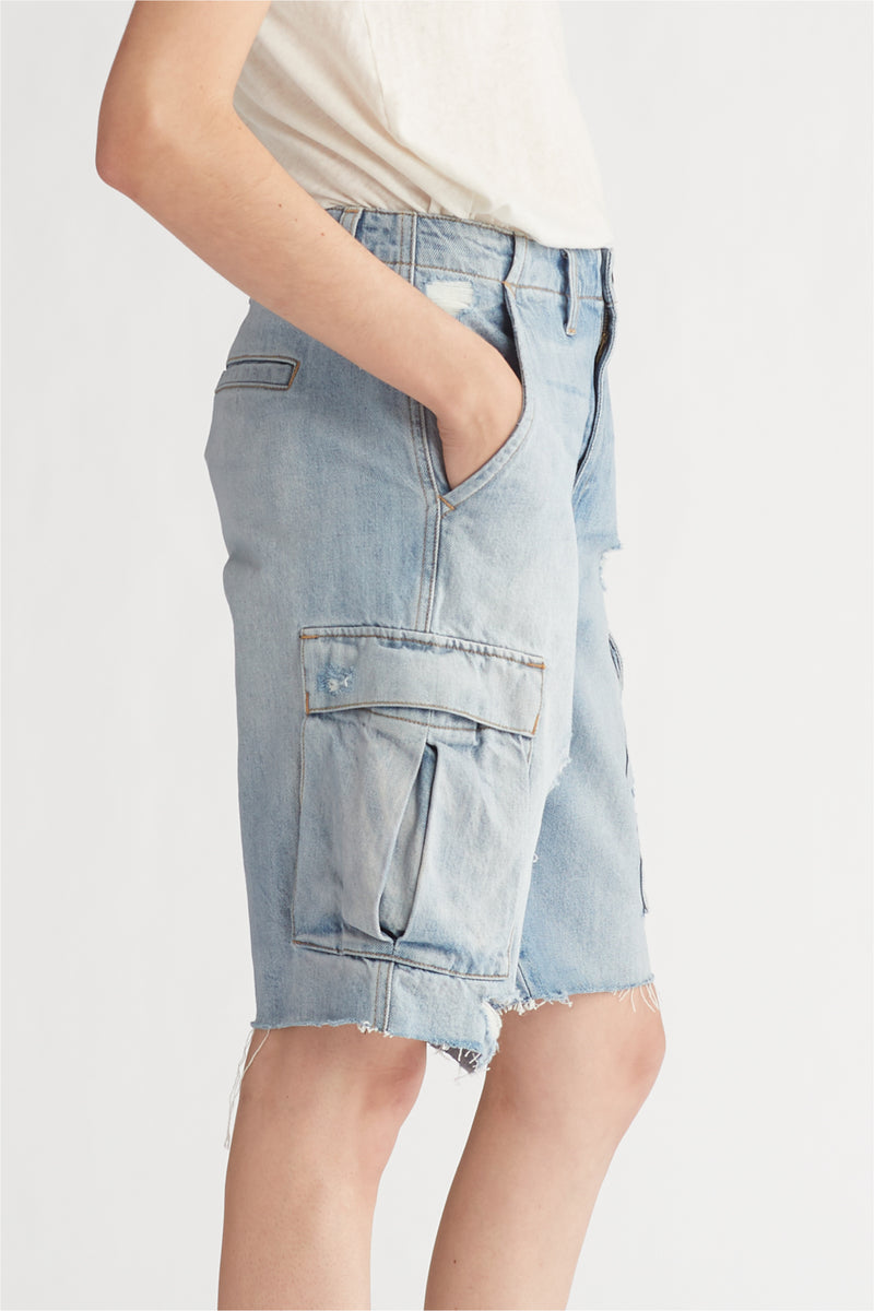 JANE CARGO SHORT - OVERTHROW - Image 5