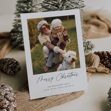 Load image into Gallery viewer, Minimalist Christmas Card - Pearly Paper