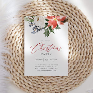 Christmas Party Invite - Pearly Paper
