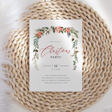 Load image into Gallery viewer, Christmas Party Invite - Pearly Paper