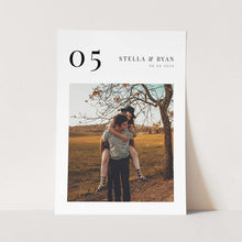 Load image into Gallery viewer, Photo Table numbers Template - Pearly Paper