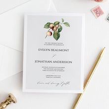 Load image into Gallery viewer, Rustic Wedding Invitation Template - Pearly Paper