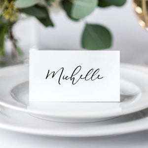 Place Cards Modern - Pearly Paper