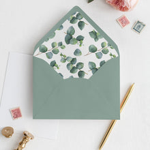 Load image into Gallery viewer, Eucalyptus Envelope Liner - Pearly Paper