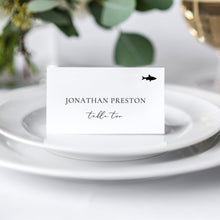 Load image into Gallery viewer, Place Cards Flat with meal icon - Pearly Paper