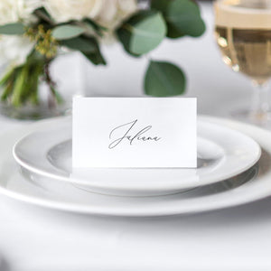 Place Card Simple - Pearly Paper