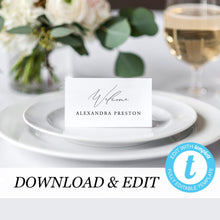Load image into Gallery viewer, Place Cards Simple - Pearly Paper