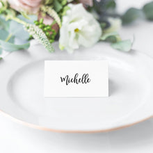 Load image into Gallery viewer, Place Cards Modern - Pearly Paper
