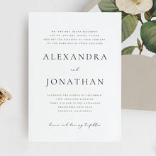 Load image into Gallery viewer, Wedding Invitation Printable Invitation Template - Pearly Paper