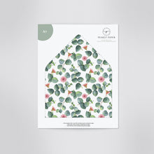 Load image into Gallery viewer, Greenery Envelope Liner Floral Eucalyptus - Pearly Paper