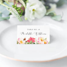 Load image into Gallery viewer, Place Cards Blush Floral - Pearly Paper